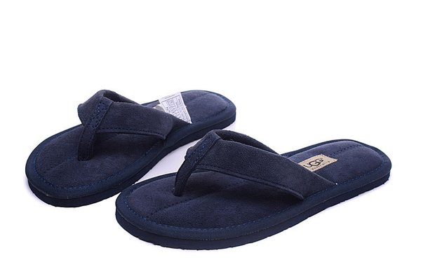Ladies UGG Blue Sheepkin Classic Flip-Flop Slippers (USA LADIES SIZE 5 - 12 ONLY)