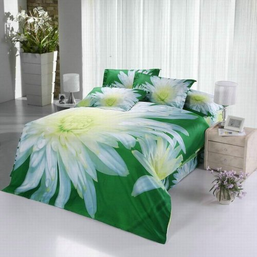Nature's Tropical Luxury High-Quality 6 Pc Brand Bed-Set F