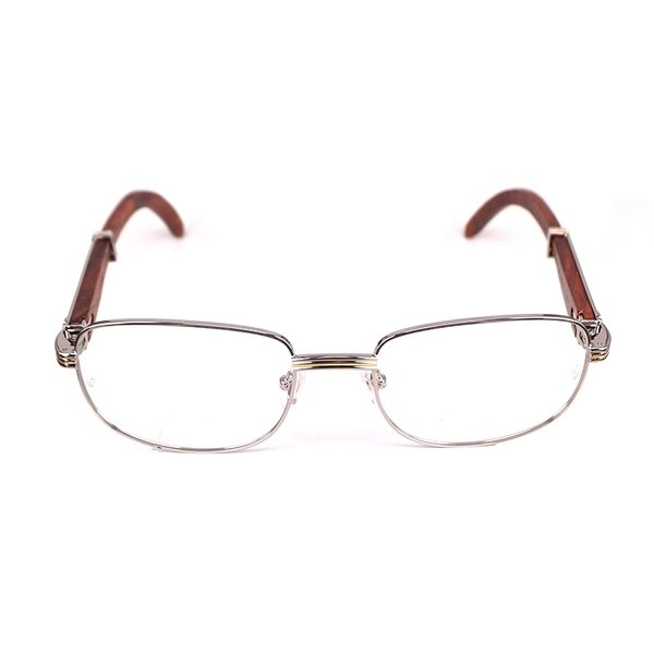 Cartier Vintage Monceau Wooden Buffalo Horn Glasses (Free 3-5 Day Shipping)