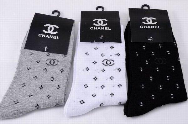 Chanel Luxury CC Logo Casual Socks 1399575