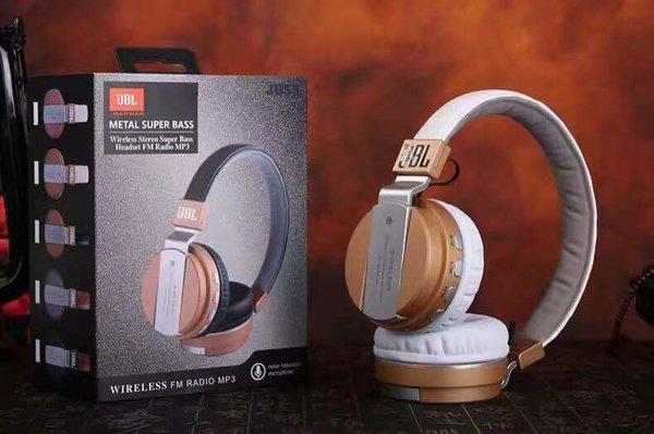 JBL JB55 Metal Super Bass Wireless Bluetooth Headset