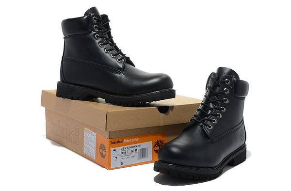 Men's Timberland 6 Inch Bright Leather Boots (4 Colors Available)