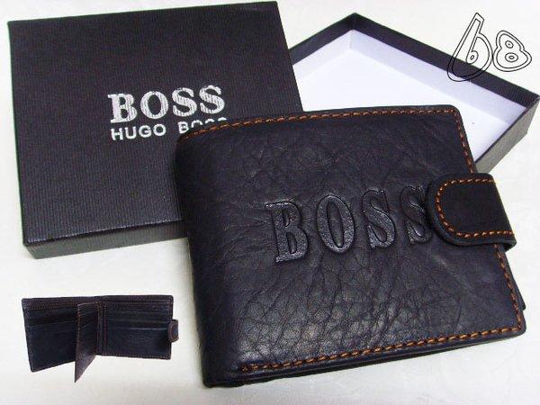 Men's Hugo Boss Custom Leather Wallet F