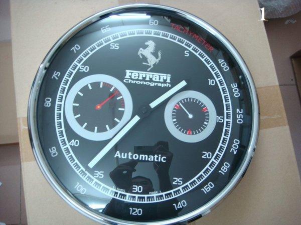 Ferrari Scuderia Panerai Chronograph Luxury Wall Clock