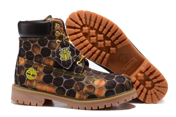 """WOMEN'S Timberland 6"""" HONEYCOMB CANVAS BOOT (New) (Up To Size 12)"""