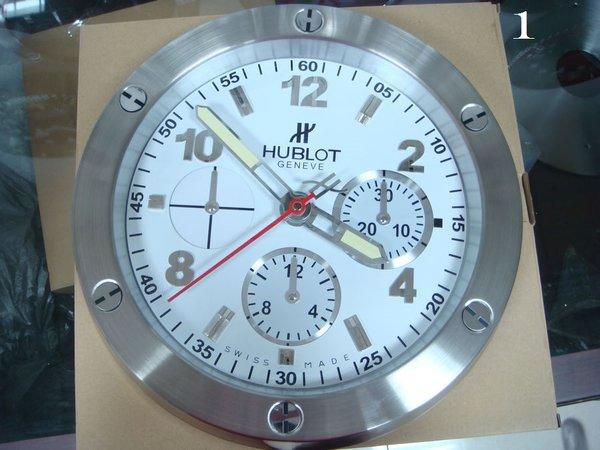 Hublot Geneve Chronograph Luxury Wall Clock