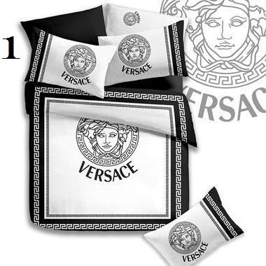 Versace Luxury High-Quality 6 Pc Brand Bed-Set