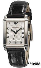 Ladies Emporio Armani AR0488 Classic Embossed Leather Watch