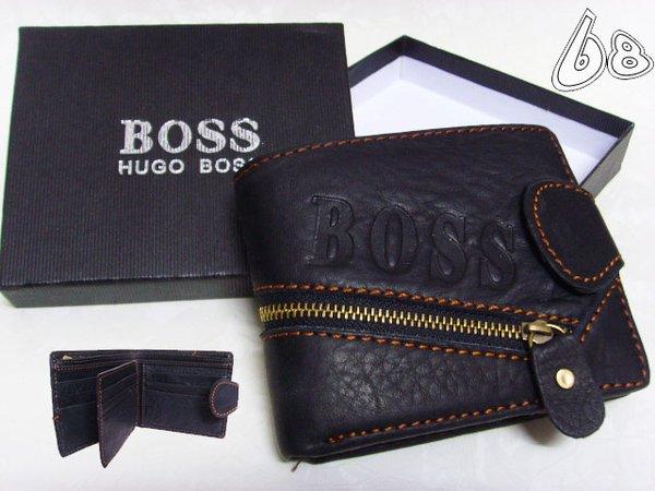 Men's Hugo Boss Custom Leather Wallet G