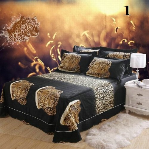 Nature's Tropical Luxury High-Quality 6 Pc Brand Bed-Set B