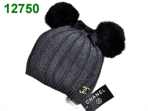 Men's Chanel Wool Cashmere CC Logo Beanie