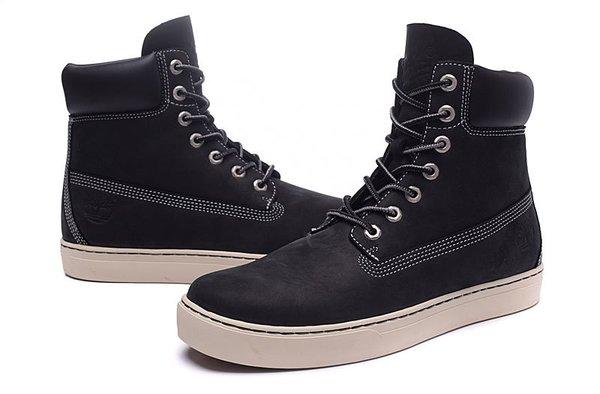 Men's Timberland 6867R High Cut Black Sneaker Boots