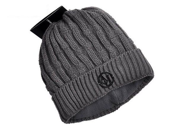 Men's Armani Jeans Cable Knit Wool Blend Hat