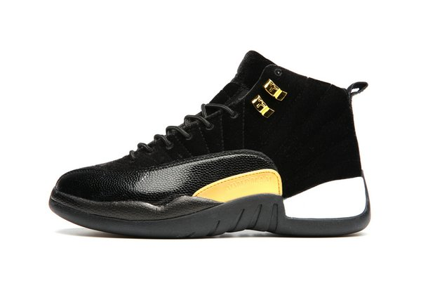 """Air Jordan 12 Retro """"Black Leather Suede"""" Sneaker (Special Limited Edition)"""