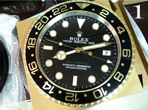 ROLEX XL GMT Master II Series Luxury Wall Clock (Limited) (Extended)