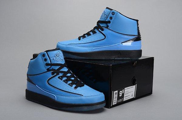 Air Jordan 2 (II) Retro Blue/Black Sneaker