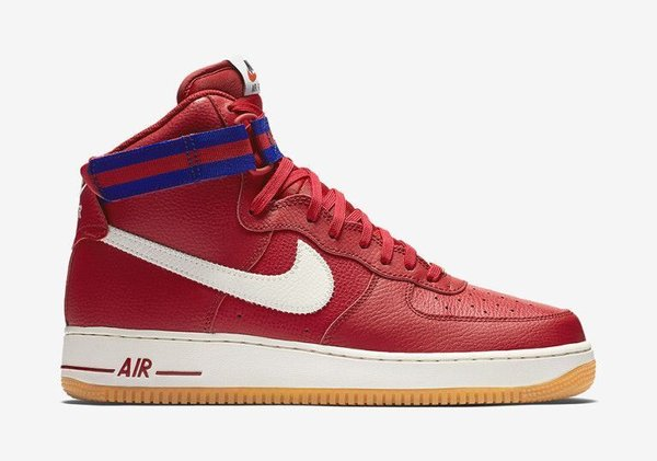 Men's Nike Air Force 1 High 07 Gym Red & Gum Sneakers