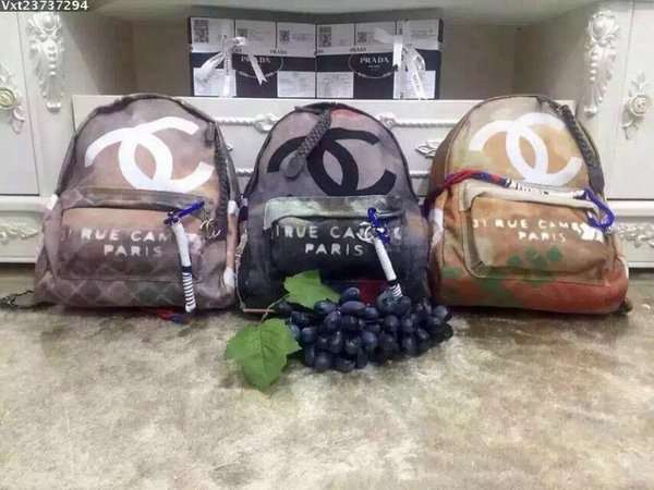 Vintage CHANEL GRAFFITI Runway BACKPACK LIMITED EDITION