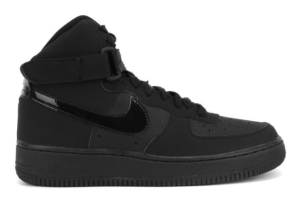 Men's Nike Air Force 1 High All Black Sneakers