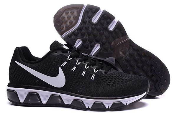 Men's Nike Air Max Black/White Tailwind 8 Running Shoe