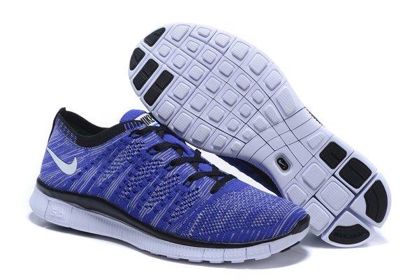 Ladies Nike Flyknit 5.0 Zoom Baolan & Black Running Shoe