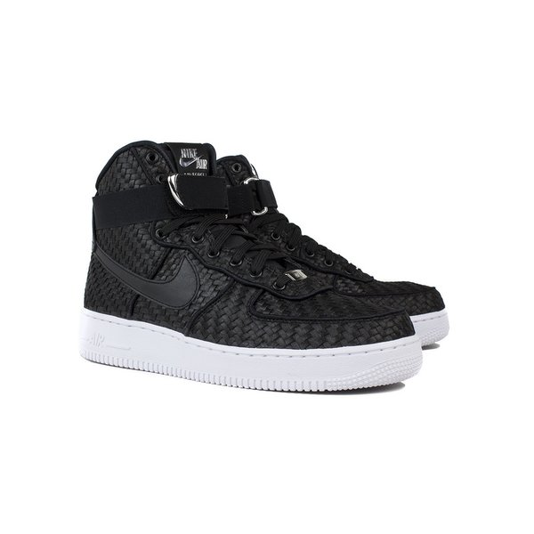 Men's Nike Air Force 1 High 07 LV8 Woven Black & White Sneakers