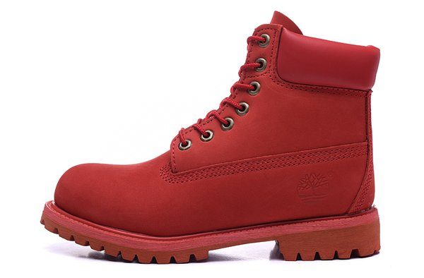 Men's Timberland 6 Inch 10061-All Red Boots
