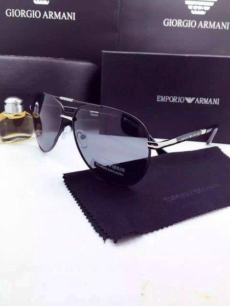 Emporio Armani EA2036 Aviator/Pilot Sunglasses