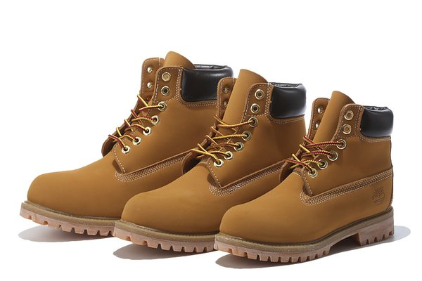 Men's Timberland 6-Inch Classic Boots w/Padded Collar