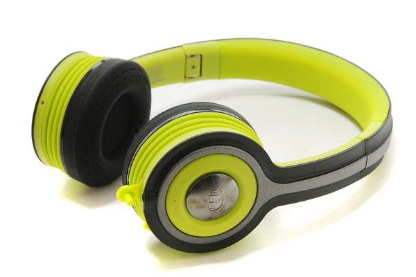 Monster Lime iSport Freedom Wireless Bluetooth On-Ear Sport Headphones