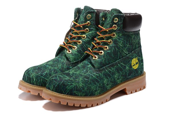 """WOMEN'S Timberland 6"""" GRASS CANVAS BOOT (New) (Up To Size 12)"""