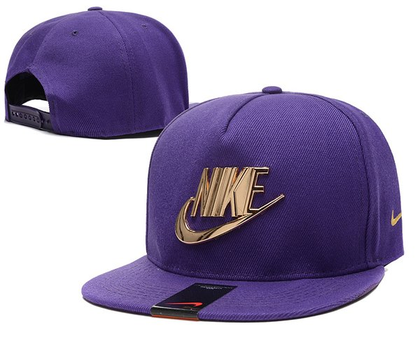 The Nike Futura Classic Gold Iron Cap (B)