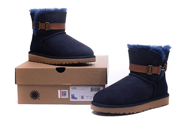 Ladies UGG Blue Custom Cambridge Single Strap Boots (USA LADIES SIZE 5 - 8 ONLY)