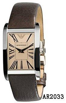 Ladies Emporio Armani Analog Leather Luxury Watch