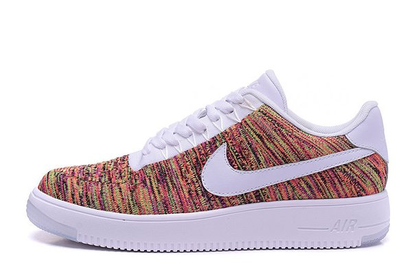 Men's Nike Air Force 1 Ultra Flyknit Low Multi-Color Sneakers