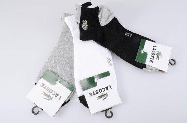 Lacoste Ped Custom Ankle Cut Socks 1397981
