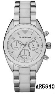 Ladies Emporio Armani Sports Luxe Watch AR5940