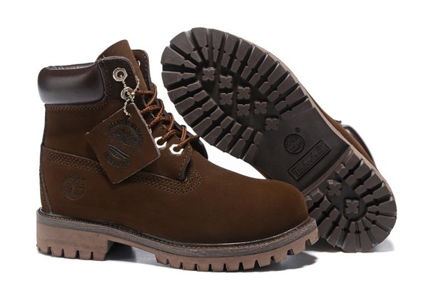 Men's Timberland Heritage 6-Inch Brown Burnished Full Grain Boots