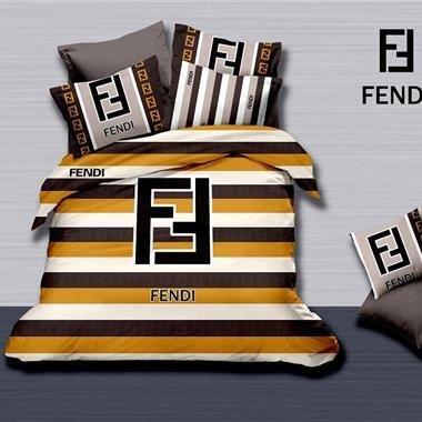 Fendi Luxury High-Quality 6 Pc Brand Bed-Set
