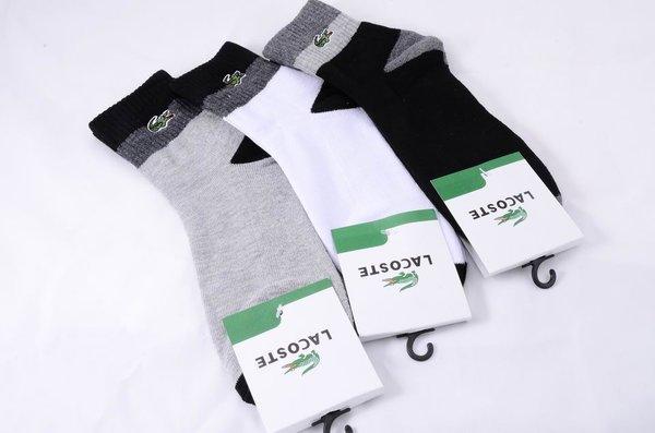 Lacoste Custom Two Toned Basic Crew Cut Socks 1399513