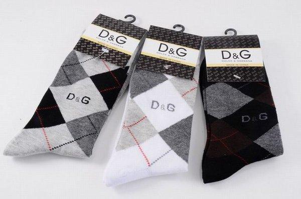 Dolce & Gabbana Luxury Knitted Casual Dress Socks 1399550