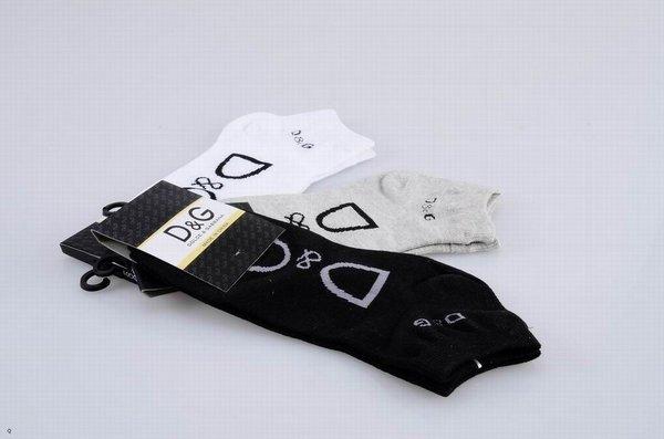 Dolce & Gabbana Embellished Large Print Knitted Ankle Socks 1399545