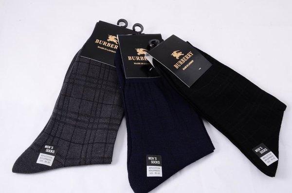Burberry Black Label Print Casual Dress Socks 1399629