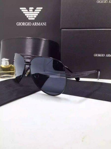 Emporio Armani EA2036 Aviator Wrap Sunglasses