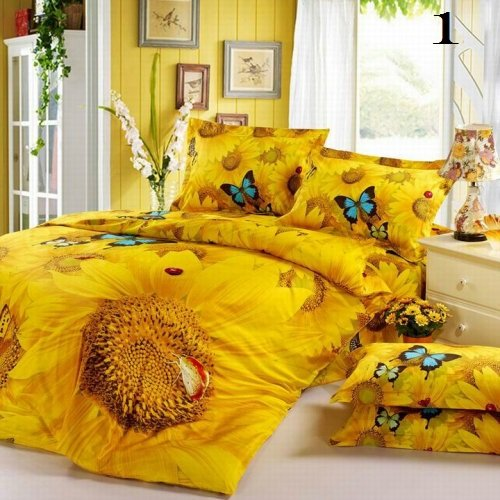 Nature's Tropical Luxury High-Quality 6 Pc Brand Bed-Set C