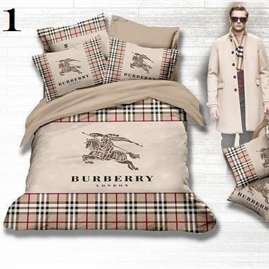 Burberry Luxury High-Quality 6 Pc Brand Bed-Set