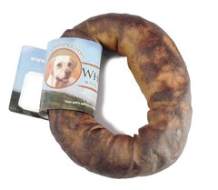 "4-5"" Wholesome Hide USA Rawhide Donut 6-Pack"