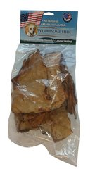 6 oz. Wholesome Hide USA Large Rawhide Chips 6-Pack