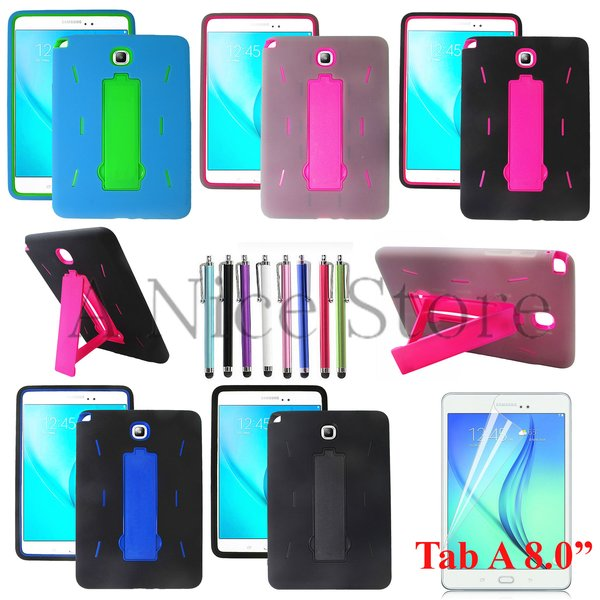 "Samsung Galaxy Tab A 9.7"" Hybrid Protective Case with Built in Kickstand"