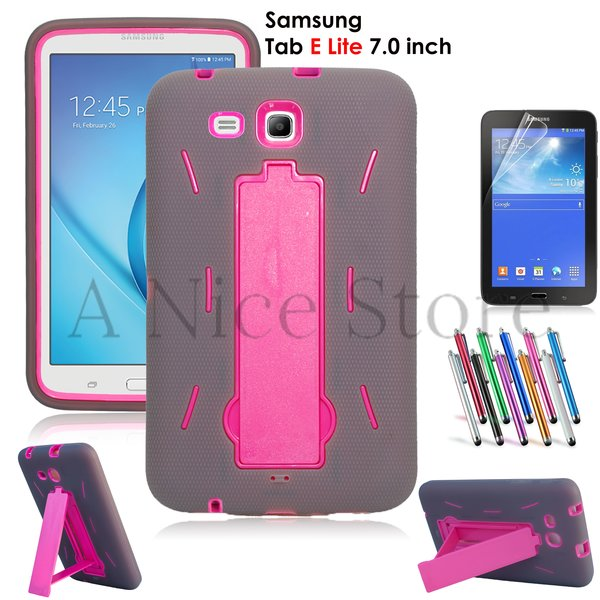 Heavy Duty Rugged Impact Hybrid Case For Galaxy Tab E 7 Lite T113